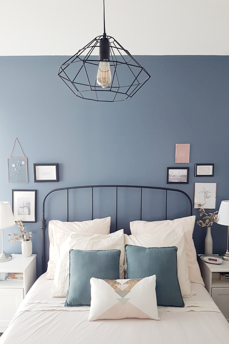 chambre bleu et beige make you happy. Black Bedroom Furniture Sets. Home Design Ideas