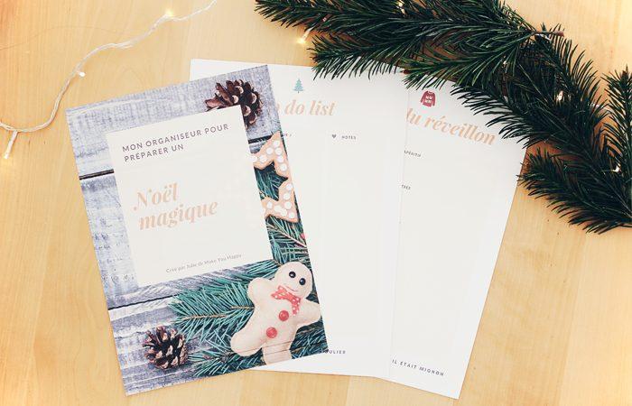 Préparer noël : Mon organiseur de Noël à imprimer et ma to do