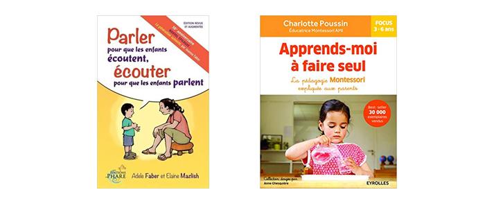 Idées lecture parentalité et éducation