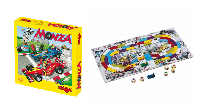 L'évolution du jeu de l'oie : Monza