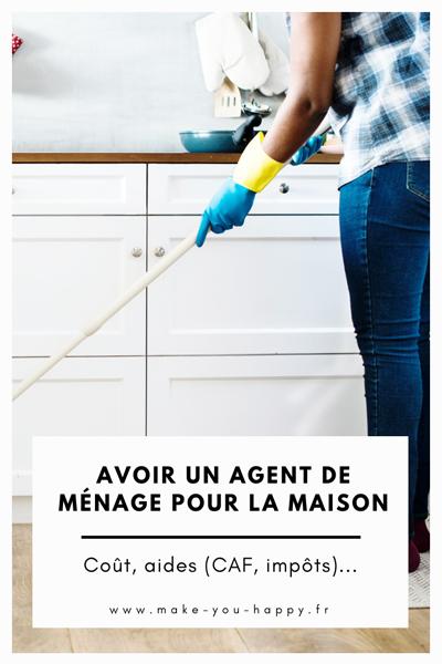 Avoir un agent de ménage à la maison : le coût, les aides, mon expérience