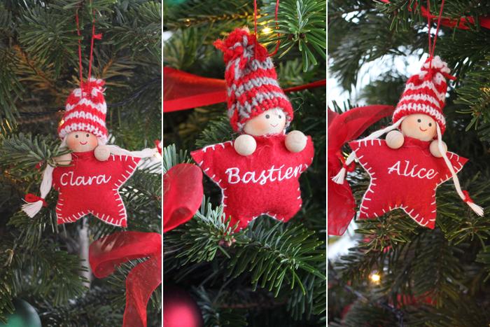 Ma décoration de Noël en rouge et vert