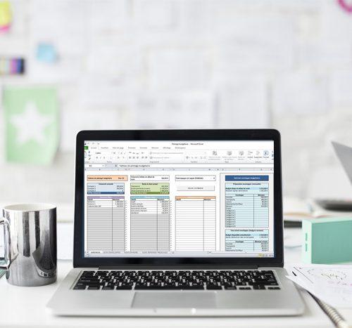 Un tableau Excel de gestion de comptes à télécharger