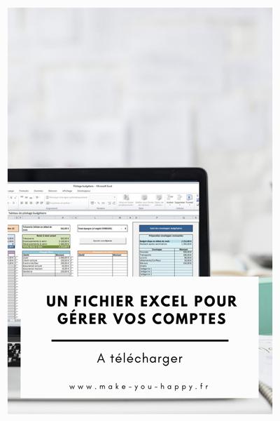 Un tableau Excel de gestion de budget à télécharger