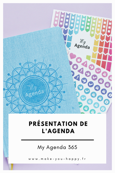 Présentation de l'agenda MyAgenda365