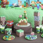 L'anniversaire Minecraft de mon fils