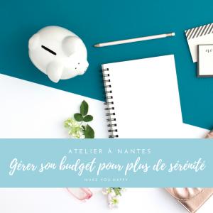 Atelier gérer son budget pour plus de sérénité