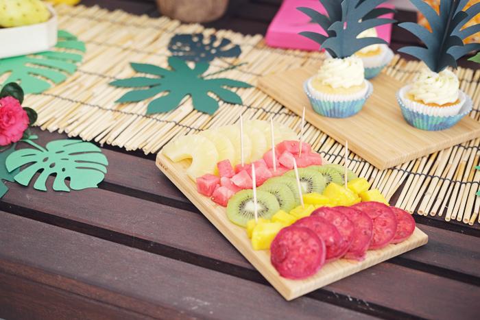 Anniversaire enfant thème tropical